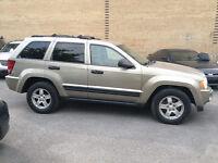2005 Jeep Grand Cherokee V6 3.7L 4x4 cuir,tps et 12 mois garanti