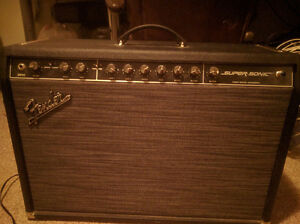 Fender Super-Sonic 60W Tube Amp - For Sale or Trade