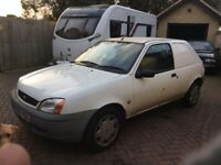 Ford Fiesta 35 1.8 TURBO DIESEL van 2001 106000 miles with service history.