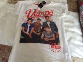 The vamps tshirt