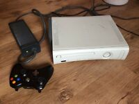 Xbox 360 console 20 GB HDD and wireless controller