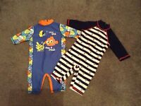 Baby boys swim suits age 18-24 months