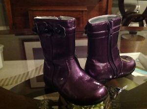 Nordstrom purple child's size 5 boots Kitchener / Waterloo Kitchener Area image 1