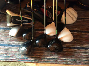 Assorted Golf Club Drivers Rights