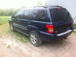 2004 Jeep Grand Cherokee SUV, OVERLAND Saftied and etested