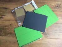 Three iPad covers and screen protectors - FREE
