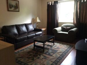 Fully FURNISHED 1 & 2 bdrm apartments available by the month
