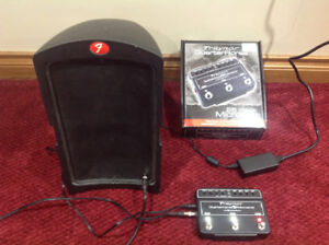 Traynor 1/4 horse and Fender speaker