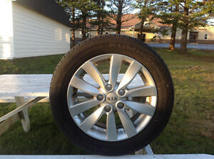 Rims with Tires St. John's Newfoundland image 1