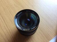 Cosina Cosinon AUTO MC 28mm f 2.8 M42 lens, can be used on any camera with adaptor