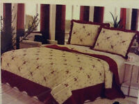 A very nice 3 piece quilt for sale!!.,