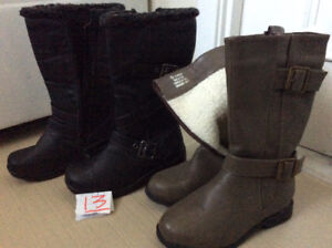 Bottes d'hiver NEUVES et boots pointure 13