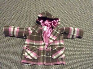 Girls 12-18 months Old Navy Plaid Dress Coat