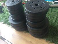 50kg vinyl weights