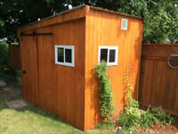 Custom-Built Cedar Sheds, Fences, Decks !