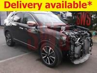 2016 Nissan X-Trail Tekna Dig-T 1.6 DAMAGED REPAIRABLE SALVAGE