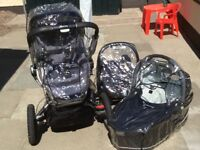 Quinny Buzz Travel system, push chair & pram