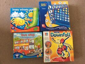 Children's games X 4