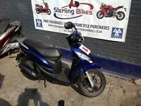 HONDA VISION 110 BLUE LOW MILEAGE