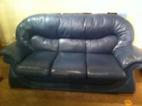 2 & 3 seater leather suite