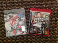 Grand Theft Auto IV and NHL 13