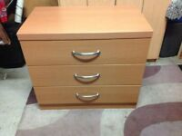 CHEST OF DRAWERS (BEECH)