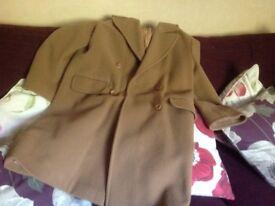 Size 12 ladies knee length wool coat