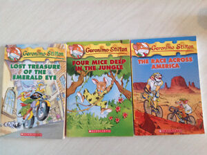 GERONIMO STILTON BOOKS in North Kildonan