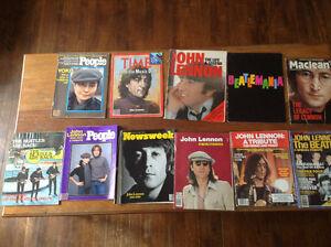 Various John Lennon Tribute Magazine