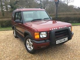 Land Rover Discovery TD5 7 SEATER VERY LOW MILEAGE NEW M.O.T WITH NO ADVISORIES