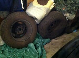 Tires with rims  x 4