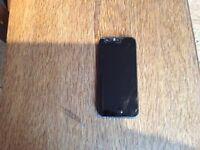iPhone 5 with broken screen