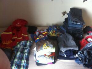 Lot de vêtements garçon 5 ans
