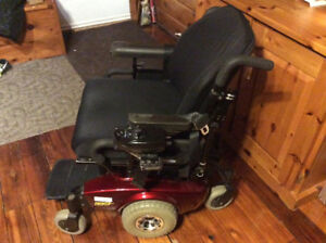 Electric wheelchair m71 pronto with sure step