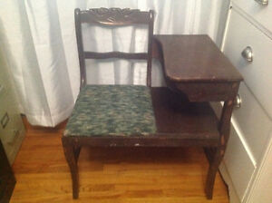 Vintage chair / table