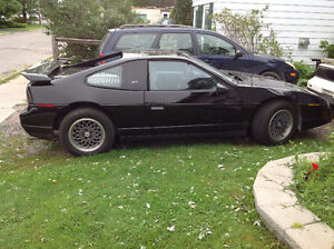 1986 Pontiac Fiero fastback Other