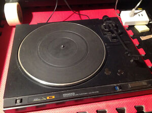 Kenwood turntable (record player) Kitchener / Waterloo Kitchener Area image 1