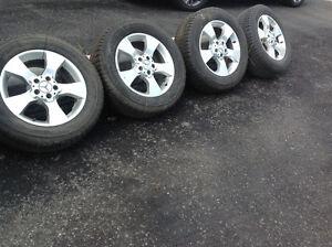 Jantes Mercedes et Pneus d'hiver Pirelli Scorpio