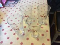 Pimms Glasses