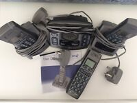 BT FREESTYLE 750 CORDLESS TELEPHONE TRIO