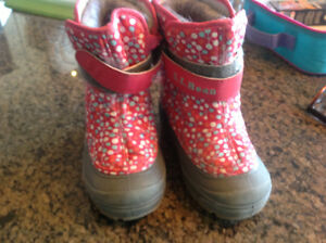 L L Bean toddler size 9 winter boots
