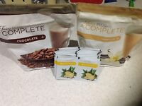 2 opened juice plus shakes and 20 boosters