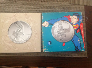 Collectable Canadian .9999 Silver Encased Coins