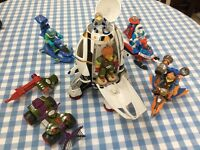 Early Learning Centre - space ship set, characters and matching vehicles.