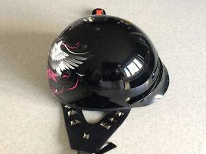 Ladies Black helmet