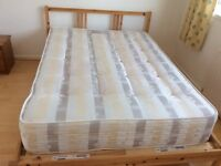 IKEA double bed and Carlton Luxury mattress for sale