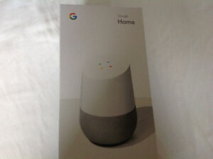 GOOGLE Home voice command brand new in sealed box $100