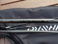 Diawa Will Raison 12ft quiver rod two tips