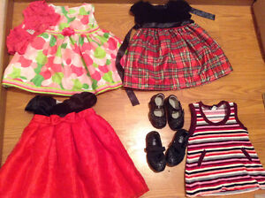 Size 12-18m baby girl party dresses lots