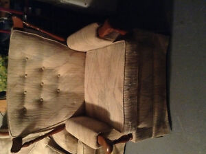 Couch and chair set - antique Kitchener / Waterloo Kitchener Area image 1